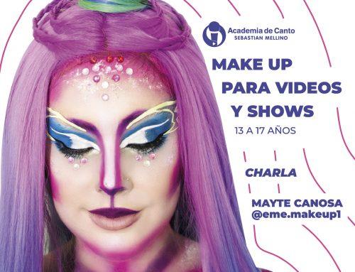 Charla de Make up